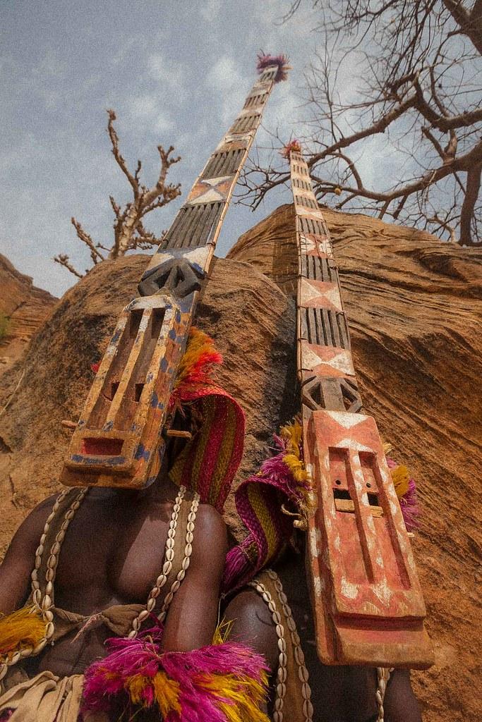 Dogon Mask Dance Tireli Pays Dogon Mali Www Facebook