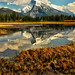Mount Rundle Reflected