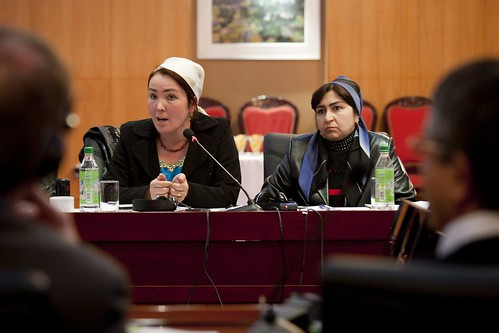 Tajik Women discuss their roles in country's food security on the eve of International Women's Day 1 | by Oxfam International