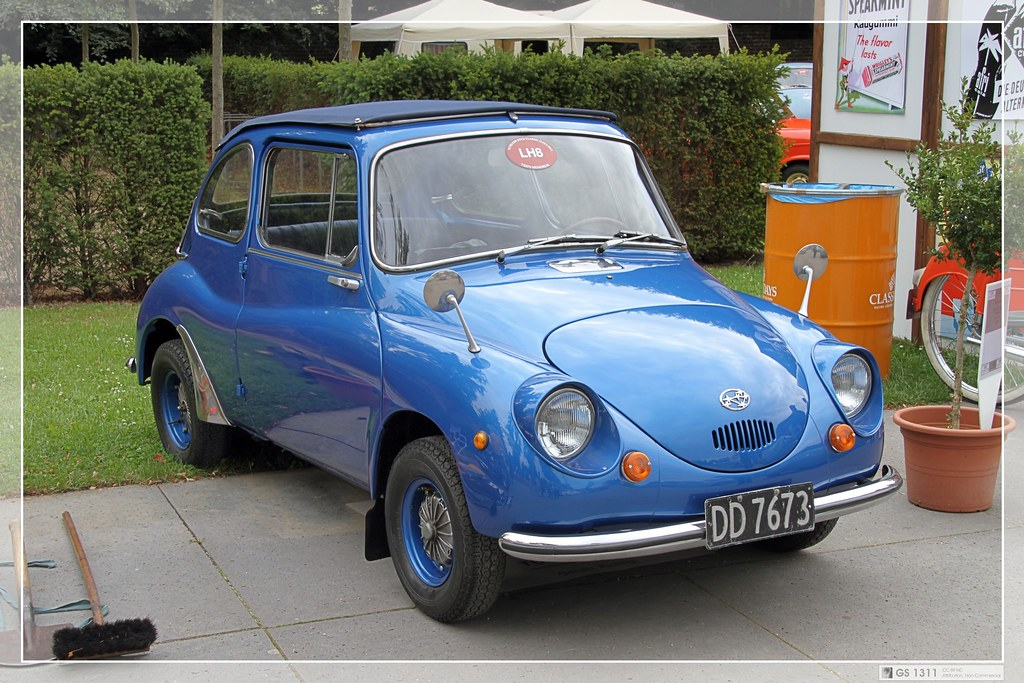 The Smallest Car In The World >> 1958 - 1971 Subaru 360 (01) | The Subaru 360 was the first