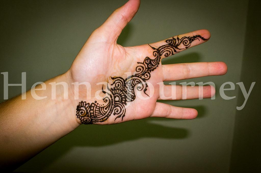 Floral Henna Palm Strap Simple Hand Mehndi Design Flickr