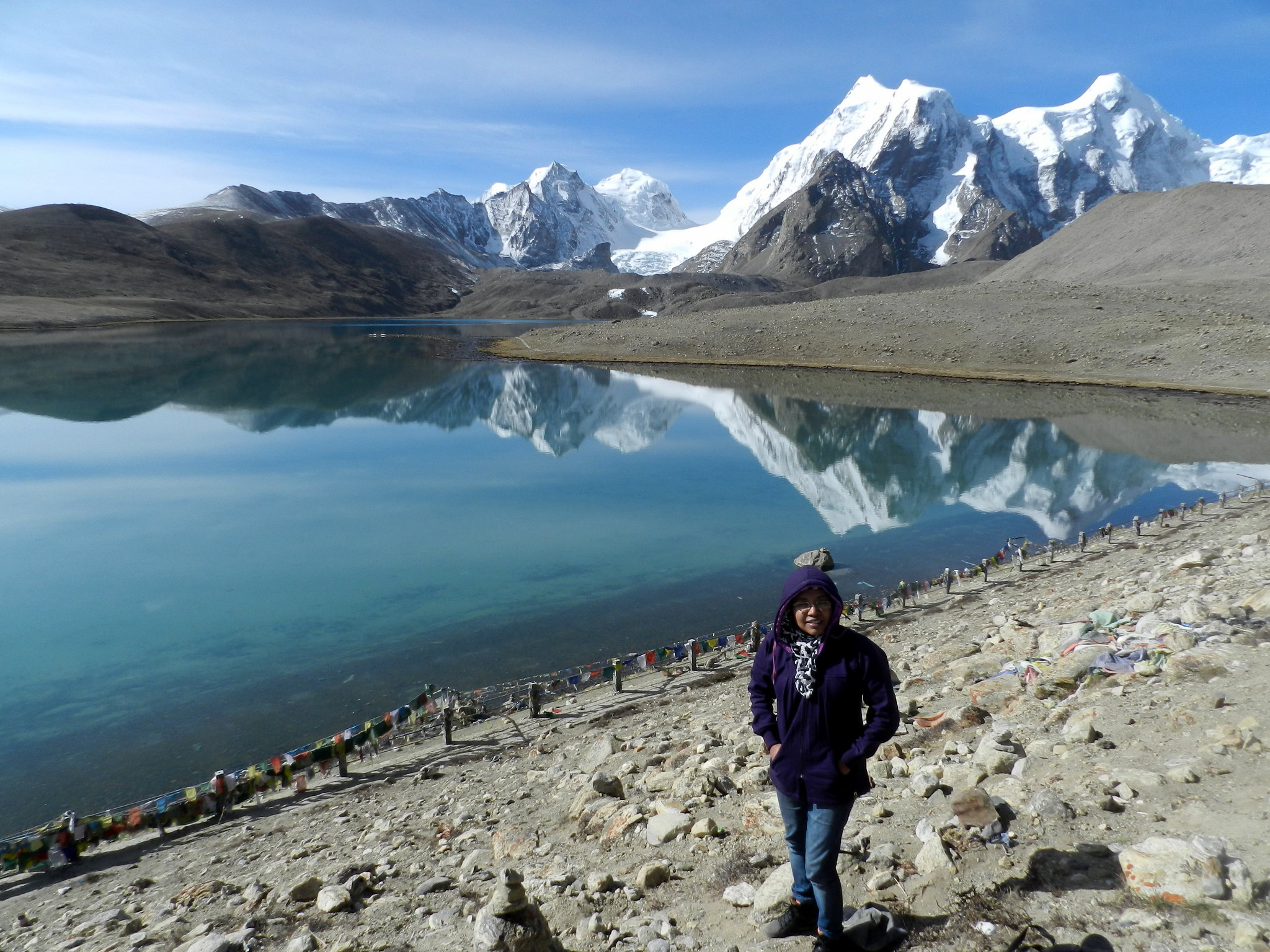 gurudongmar, holy lake, north sikkim, nature