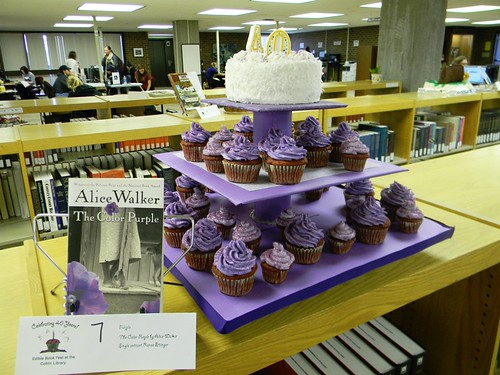 The Color Purple Cupcakes | by UWGB Cofrin Library
