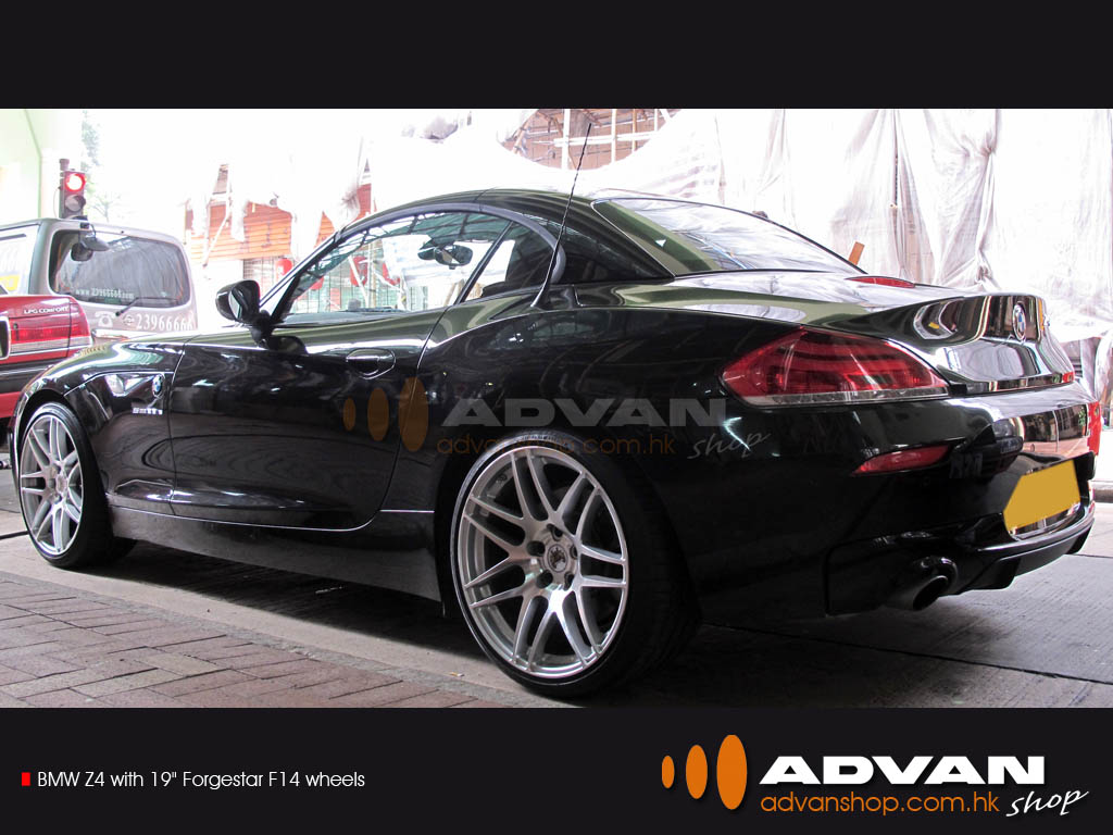 Bmw Z4 With 19 Quot Forgestar F14 Wheels Bmw Z4 With 19 Quot Forge Flickr