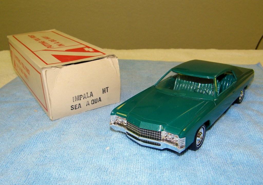 1971 Chevrolet Impala Custom Coupe Promo Model Car - Sea A ...