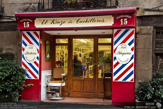 La vieja barber a flickr photo sharing - La barberia de vigo ...