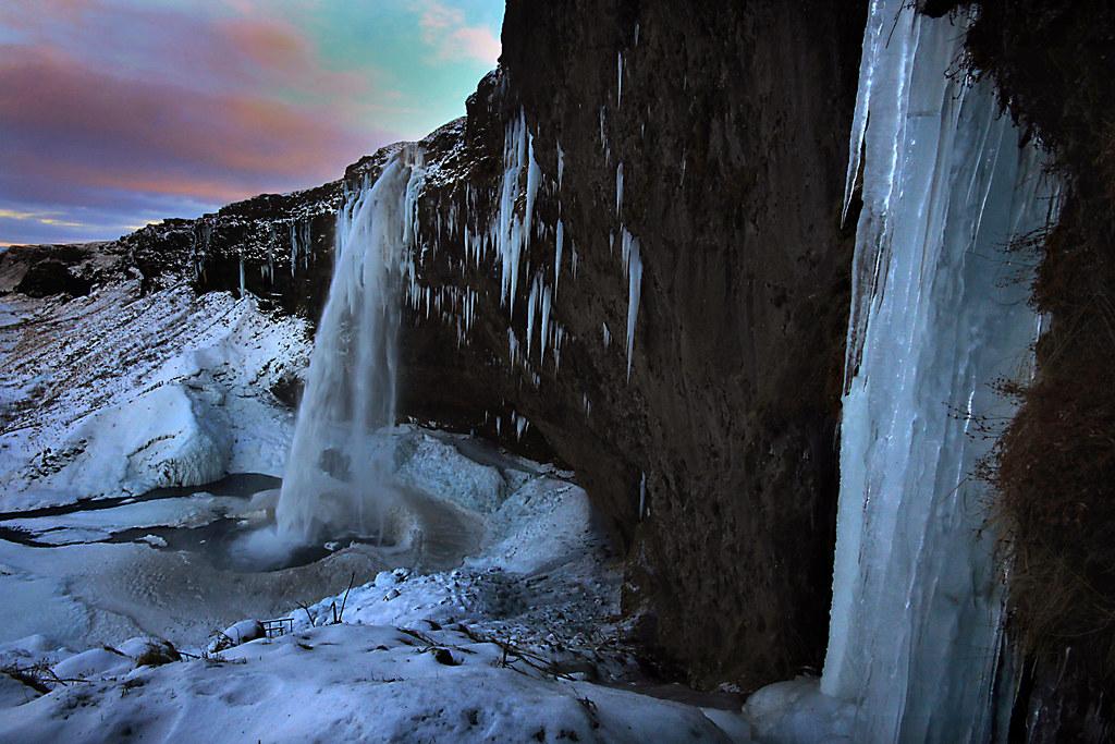 Seljalandsfoss Iceland The Seljalandsfoss Waterfall Is