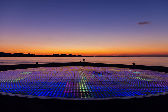 Zadar Sunset Flickr Photo Sharing