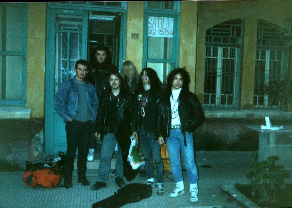 The True Mayhem In Turkey 1990 From L To R Concert