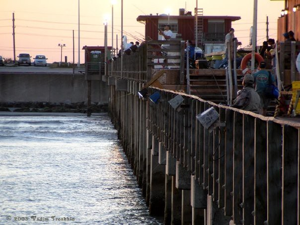 Fishing from the 91st street pier flickr for Galveston fishing pier report