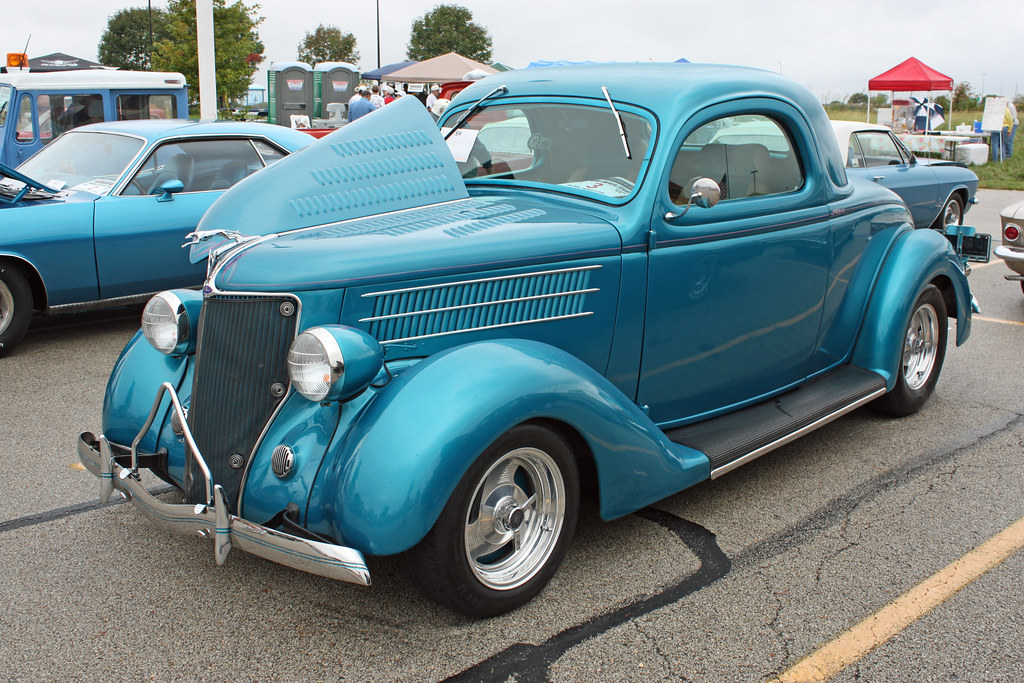 1936 ford 3 window coupe street rod 1 of 5 for 1936 ford 3 window