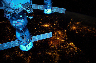 Europe and its nightlights, seen from the ISS | by europeanspaceagency