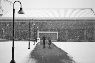 Snowy Providence College Campus | by ProvidenceCollege