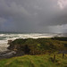 Storm over Auckland's West coast – Muriwai Beach.