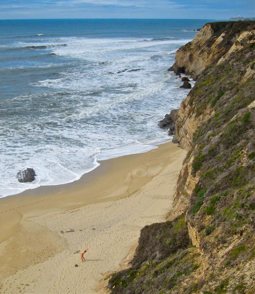 Wife on a nude beach-4433