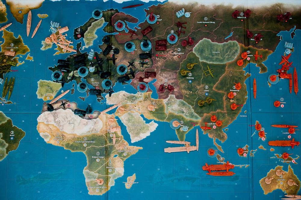 axis and allies global 1942 setup