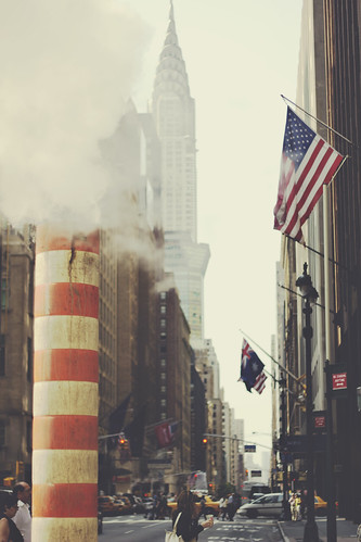 NYC Street and Chrysler | by ray and love photography