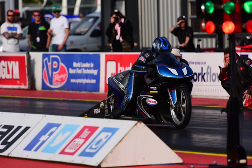 Alex Hope, Suzuki TL1000, FIM Europe Pro Stock Bike, Santa Pod 2016