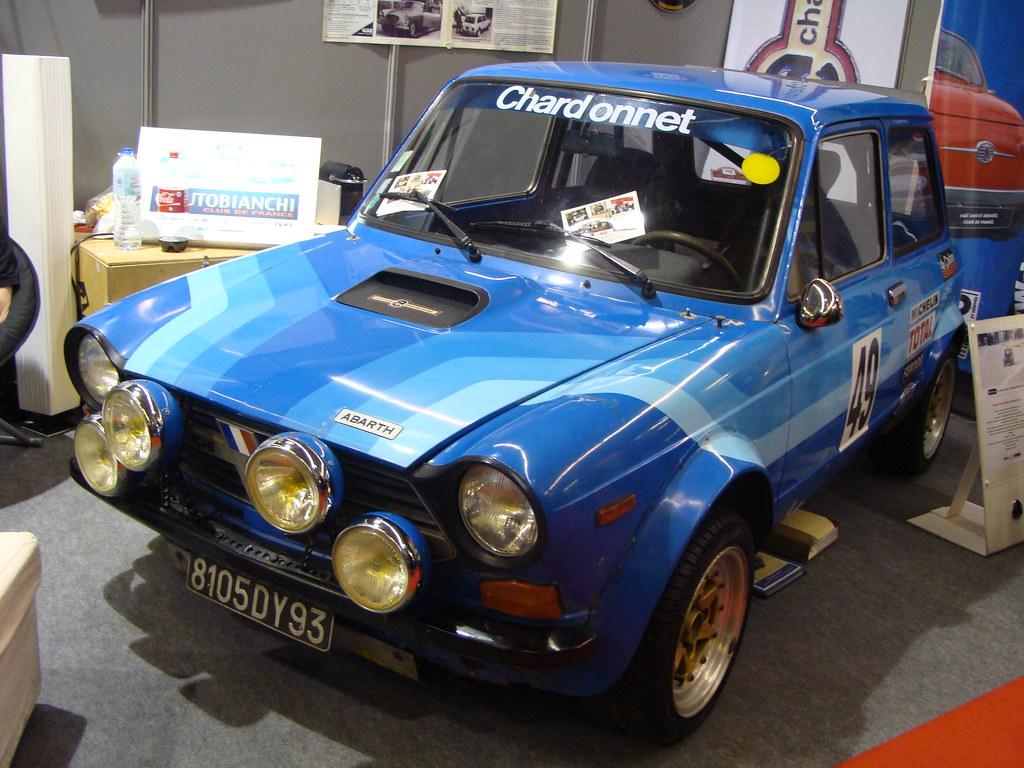 Autobianchi A112 Abarth Gr 5 Chardonnet 1978 Moteur 4