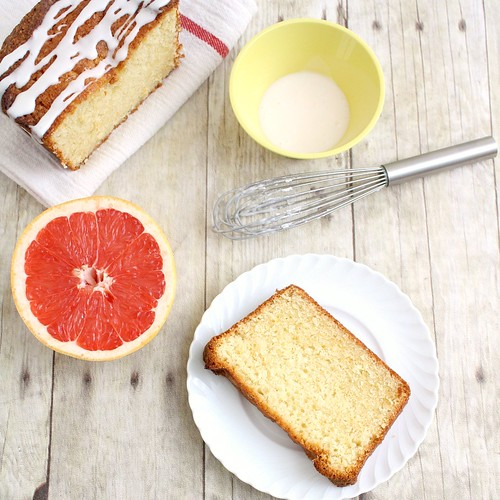 Glazed Grapefruit Cake | by Tracey's Culinary Adventures