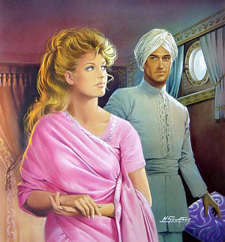 Vintage Harlequin Romance Paperback Books Lot X 36 Red Edges