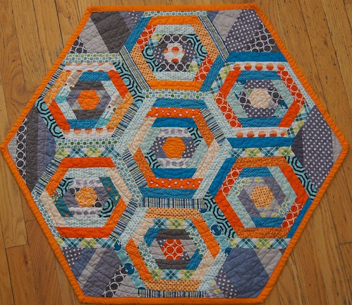 Hexagon Quilt | by craftyjak