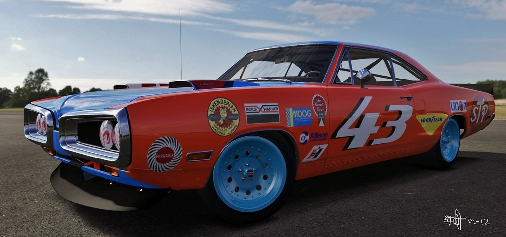 1970 Dodge Coronet Super Bee 43 Richard Petty Photo