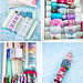 Organizing trims and ribbons