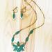 Vintage 1930's Nouveau Flower Jewelry Set