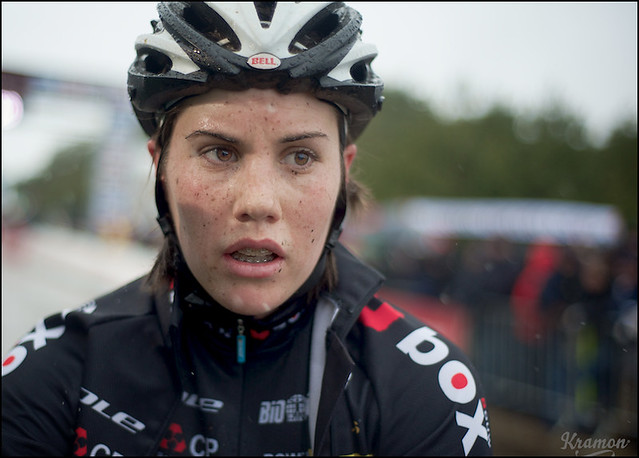 Sanne Cant postrace