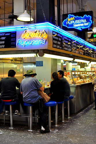 Sarita's Pupuseria - Grand Central Market - Los Angeles | by Cathy Chaplin | GastronomyBlog.com