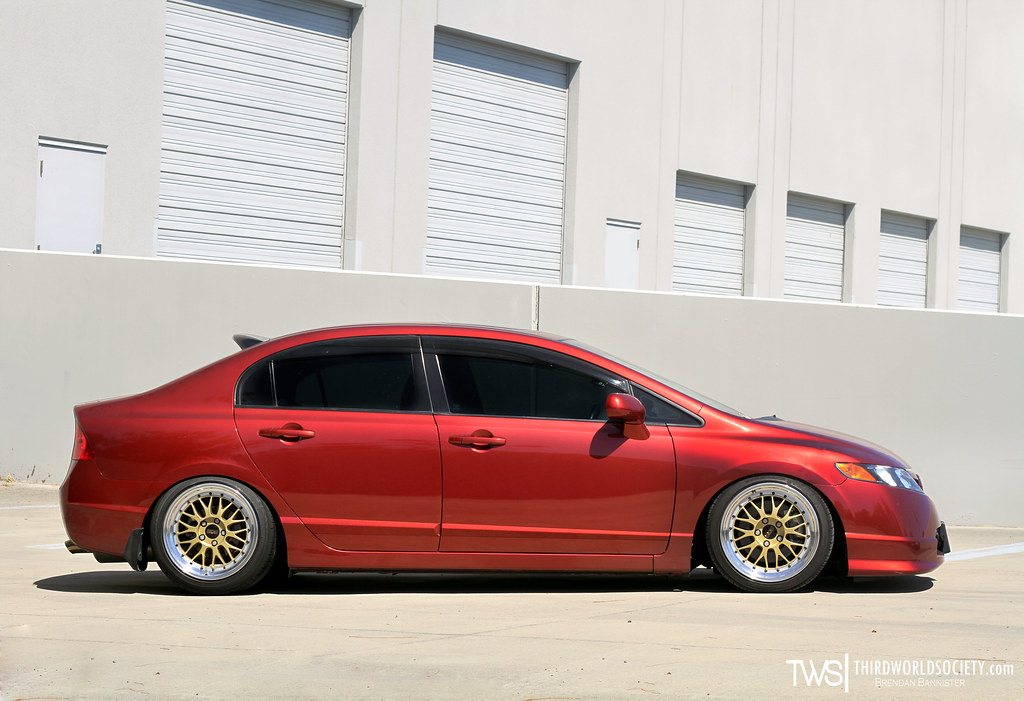 Honda Civic Si Fa5 On Bbs Lms Www Facebook Com Pages Brend Flickr