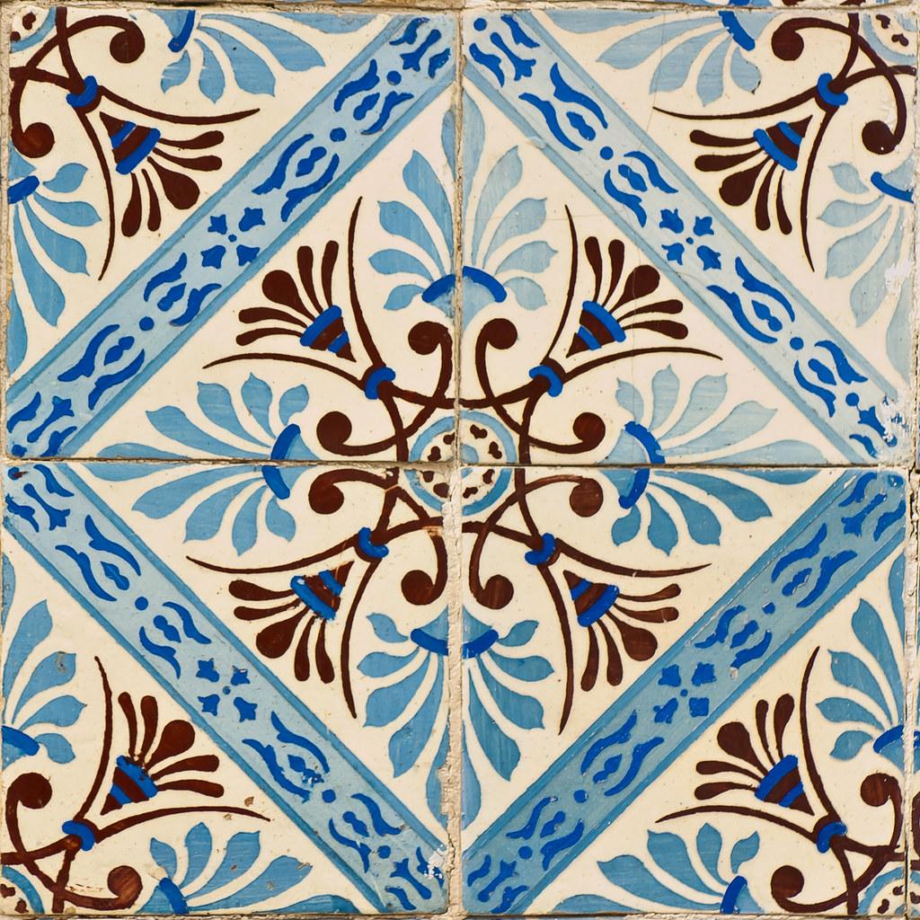 Azulejos portugueses 138 r2hox flickr for Carrelage monocouche tunisie