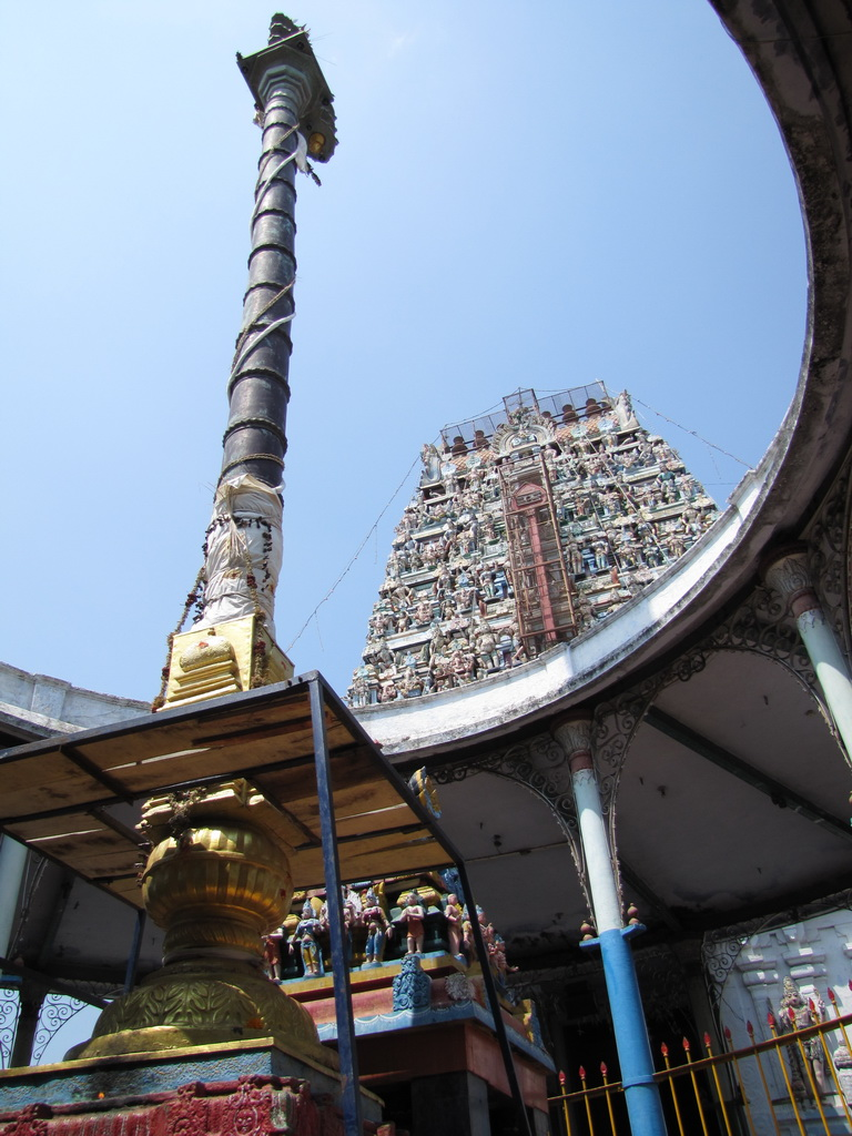 Kovil Gopuram Kodi Maram Kovil Gopuram