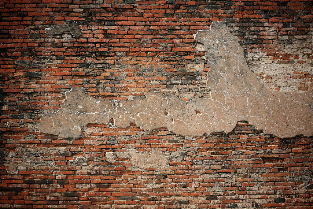Old brick wall pattern Textured background old brick