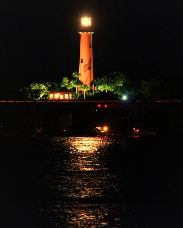 Corbett Lighting Party All Night: Jupiter Night Light, Jupiter, Florida