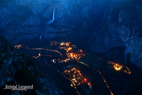 Yosemite Valley at Twilight | by Kristal Leonard