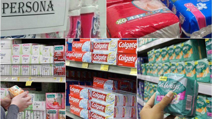 Estos son los nuevos precios de productos de higiene personal