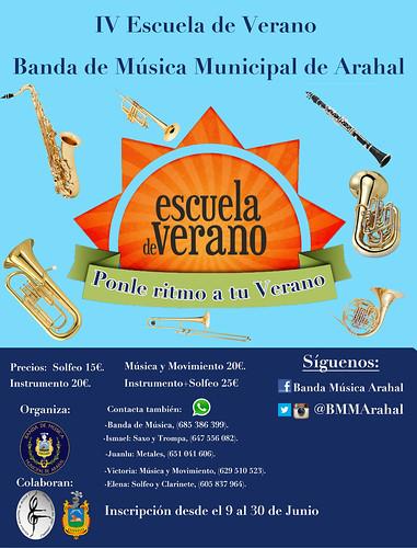 AionSur 27527461046_08f08092a1_d IV Escuela de Verano de la Banda Municipal de Música de Arahal Educación