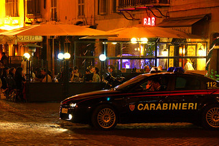 Carabinieri in the Campo de Fiori, Rome | by eltpics