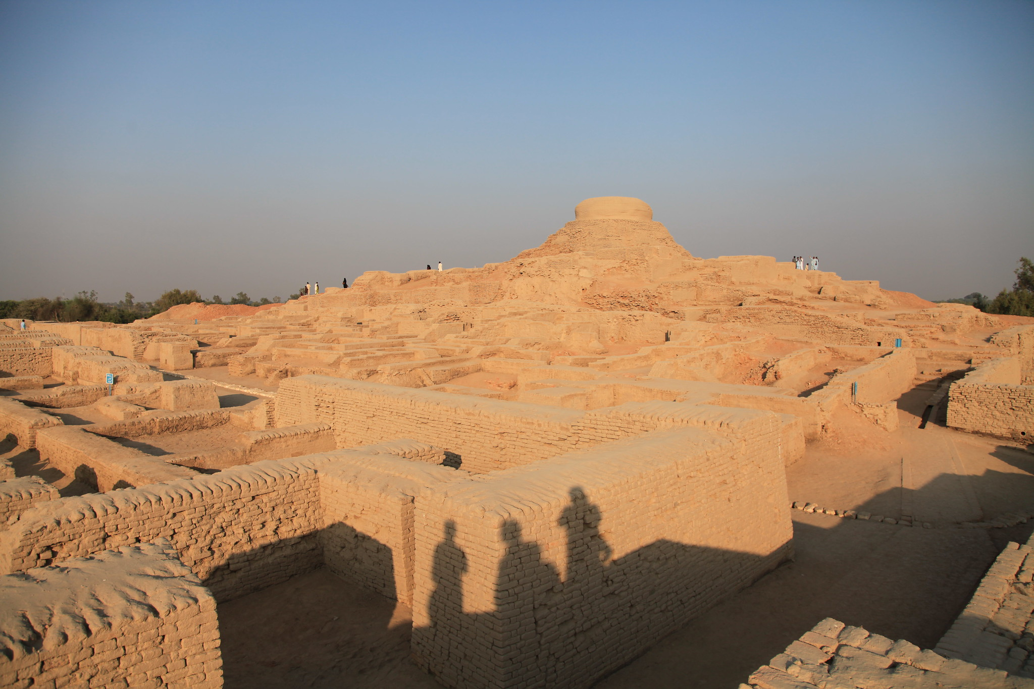 Back to the Ancient Times of Indus Civilisation | Mohenjo-Daro Ruins. Mohenjo-Daro | Sindh Province, Pakistan | 20 11 2011