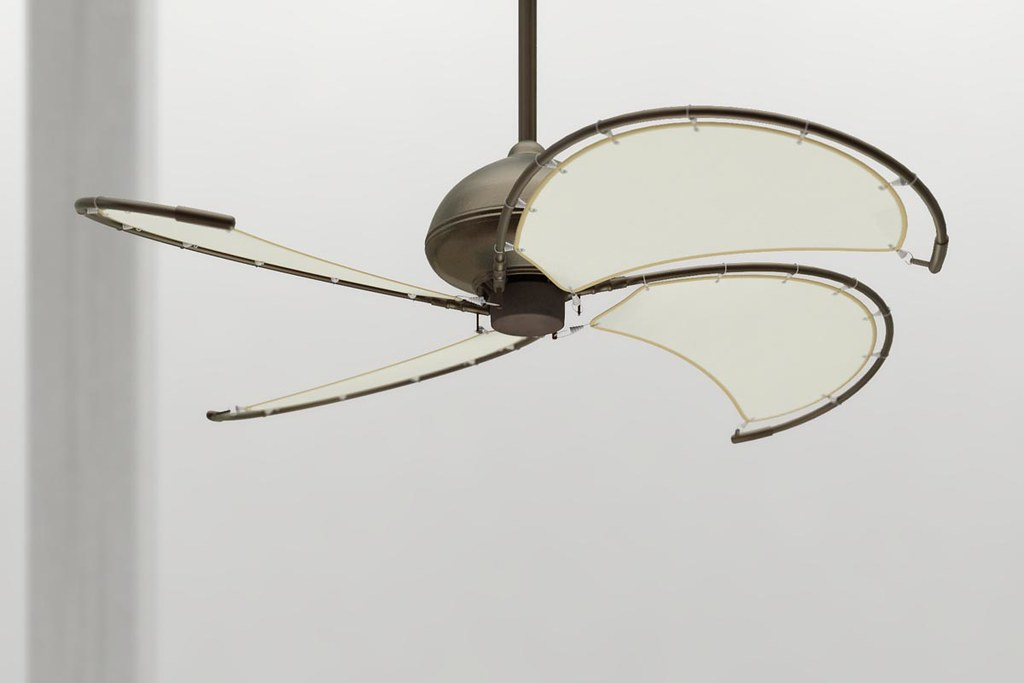 Windmill Ceiling Fan Product Visualization By Studio2a