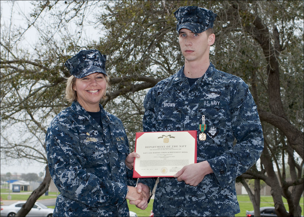 "Navy Corpsman Earns Combat ""V"" for Heroism 