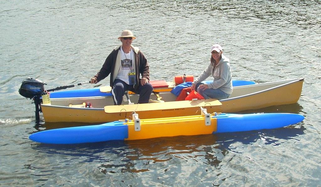 C Lion Outrigger Canoe Canoe with outr...