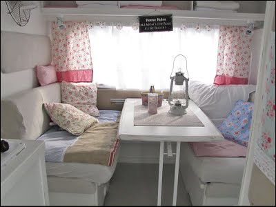 Shabby chic caravan gorgeous shabby chic caravan i found flickr - Interior caravanas decoracion fotos ...