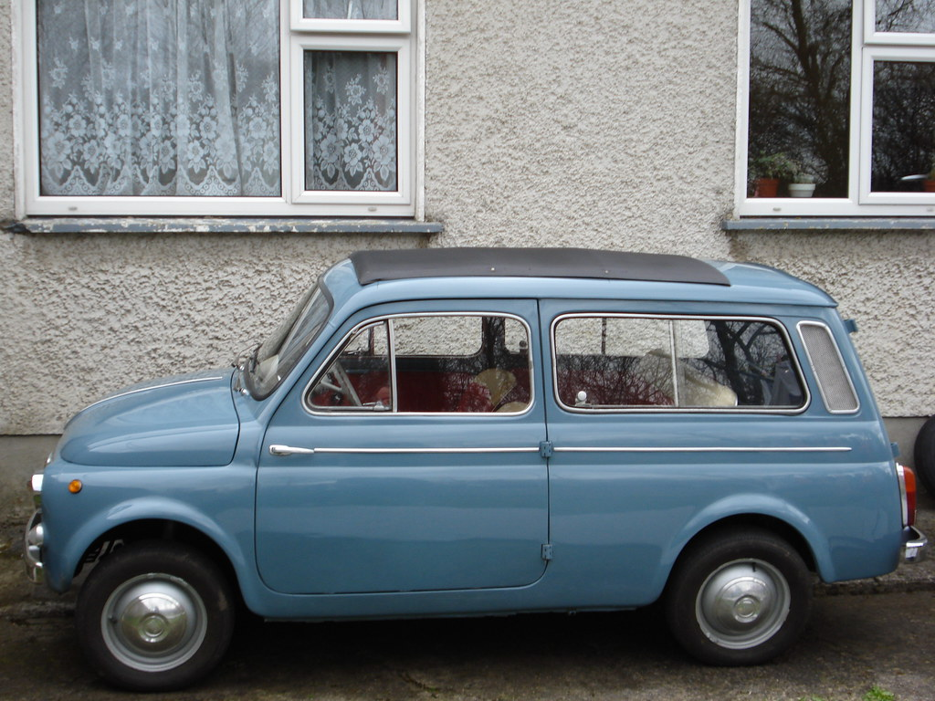 1964 fiat 500 giardiniera only an italian could come up wi flickr. Black Bedroom Furniture Sets. Home Design Ideas