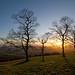 Mendip Hills Sunset
