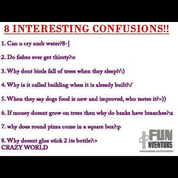 #8 #interesting #questions