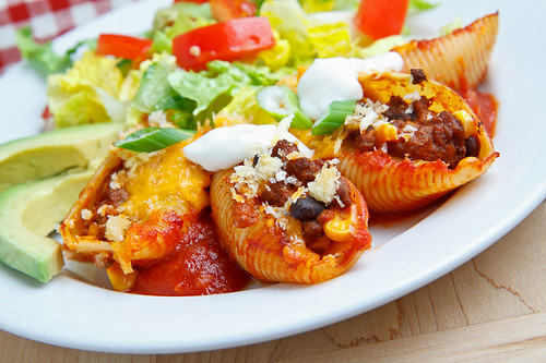 Taco Stuffed Shells | by Kevin - Closet Cooking