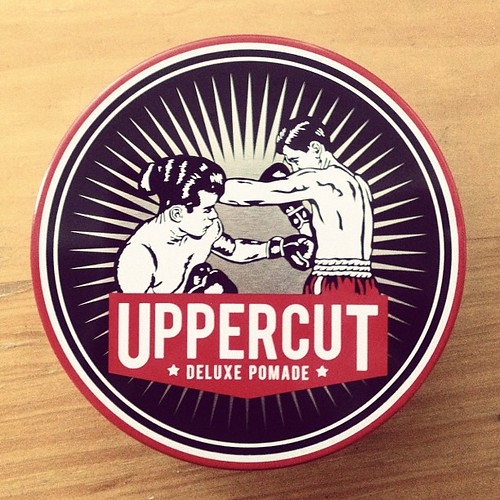 Love This Uppercut Pomade Packaging Logo Design